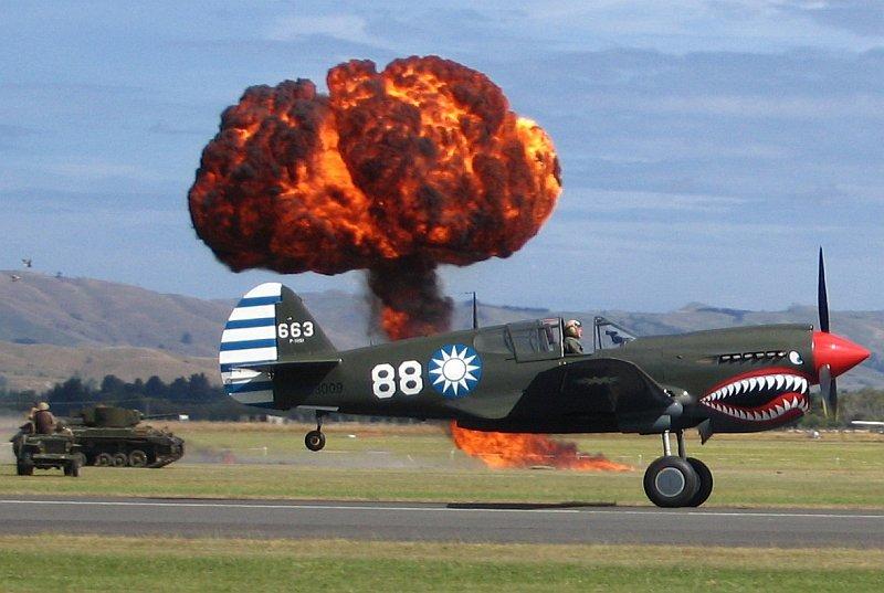P51 Mustang at the Wings over Wairarapa Airshow