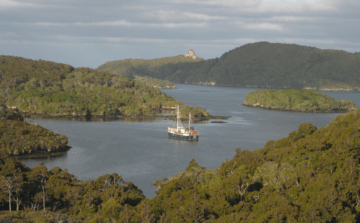 Stewart Island Discovery Expeditions Real Journeys cruise