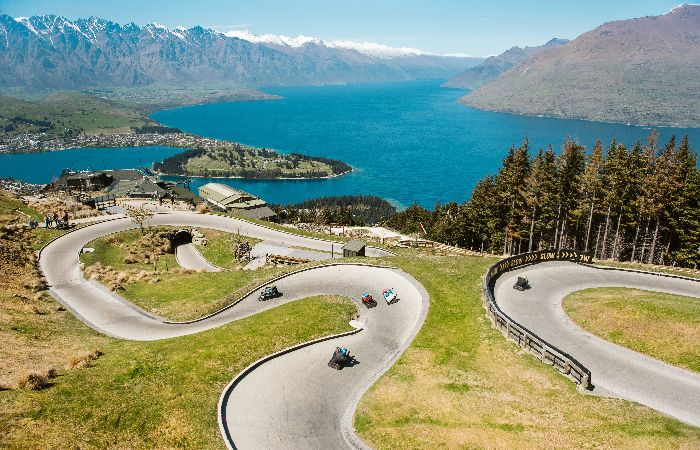 Skyline luge Queenstown