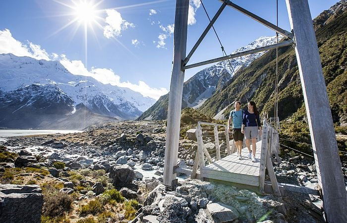 Hooker Valley scenery - create your own trip
