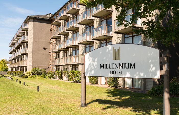 Millennium Rotorua Exterior with Sign