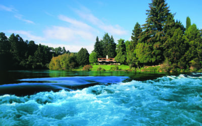 Huka Lodge with Fishing on Lake Taupo
