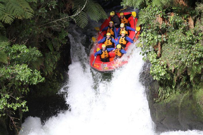 River Rats Rotorua white water rafting