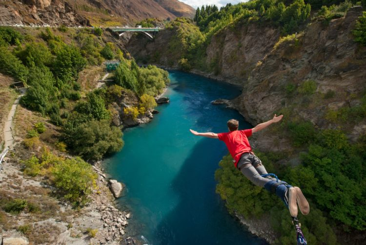 Kawarau Bridge Bungy in Queenstown