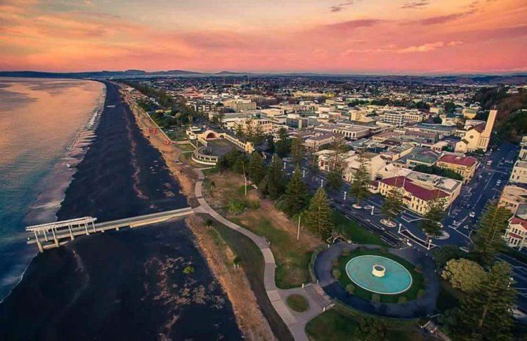 Aerial photo Napier