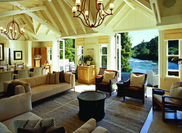Huka Lodge cottage