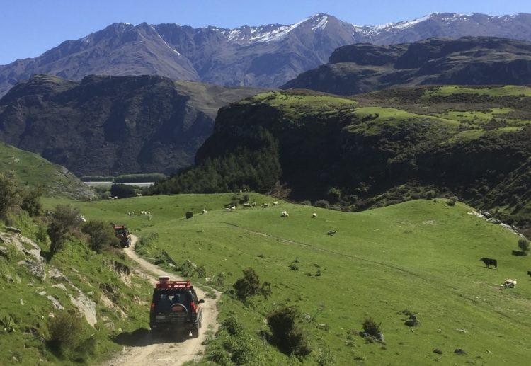 4WD adventure in Wanaka