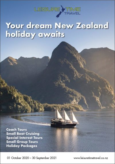 Leisure Time Travel New Zealand Brochure Image