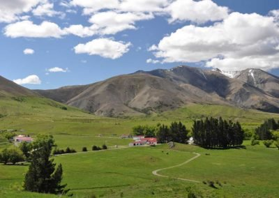 Molesworth High Country station building and maps