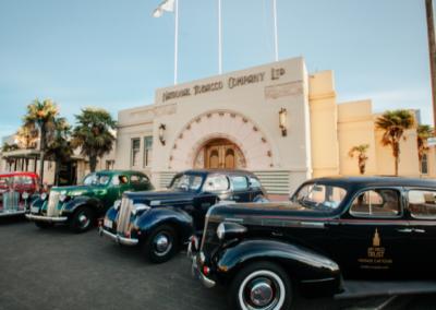 Art Deco Cars in Napier