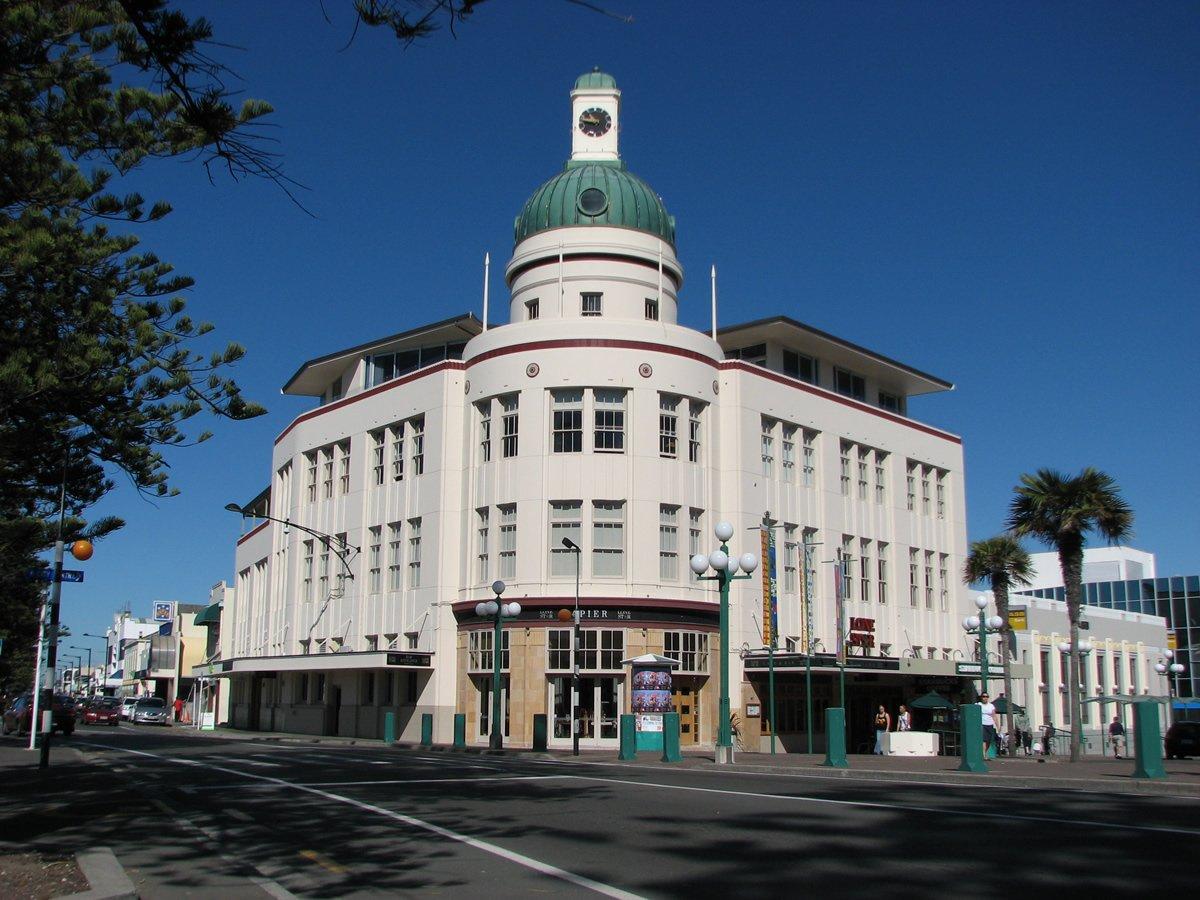 Lone Star Art Deco Building on Marade Parade