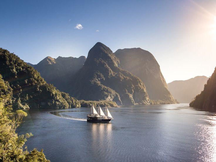 Fiordland Navigator on the Doubtful Sound