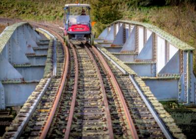 Forgotten World Cart Bridge, Forgotten World Adventures