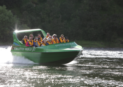 Forgotten World Adventures Jet Boating on Whanganui River
