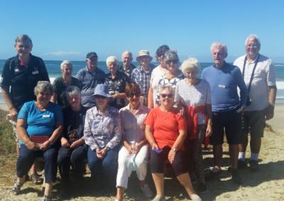 LTT Tour Group on Great Barrier Island