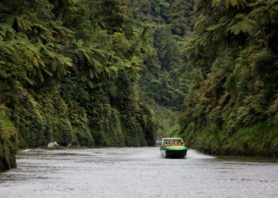 Jetboat on Whanganui River - Forgotten World Adventures