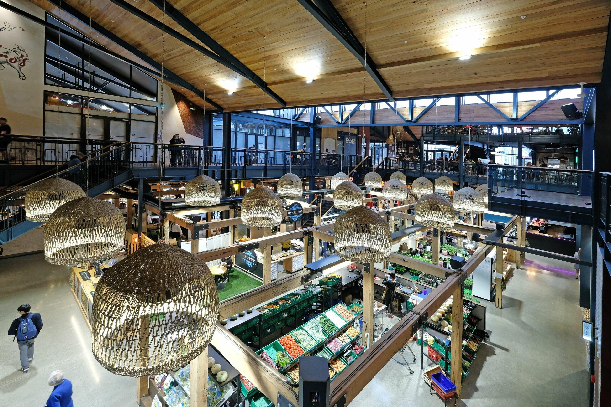 Riverside Market in Christchurch