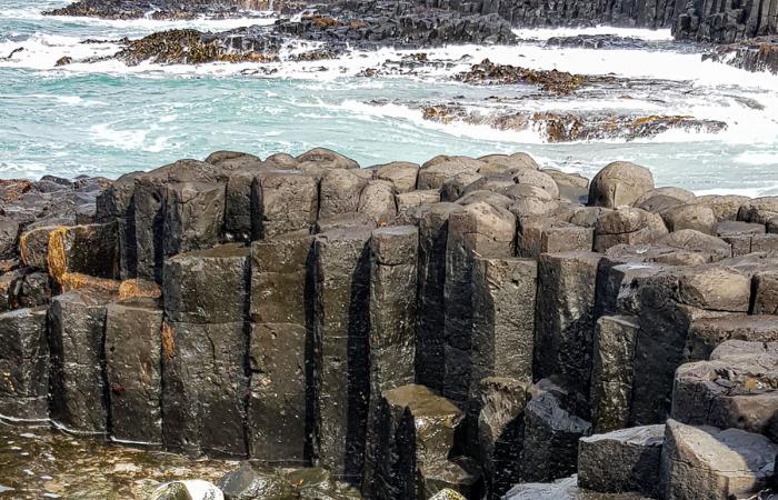 Basalt Columns Chatham Islands